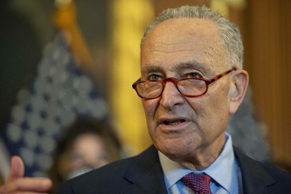 Senate Majority Leader Chuck Schumer failed to get Senate debate on the bipartisan infrastructure package started on Wednesday.