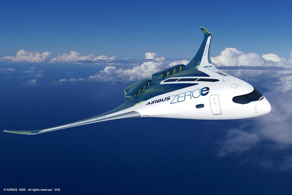 """Airbus plant Wasserstoffflugzeug: """"Versprechen uns eine Menge"""""""