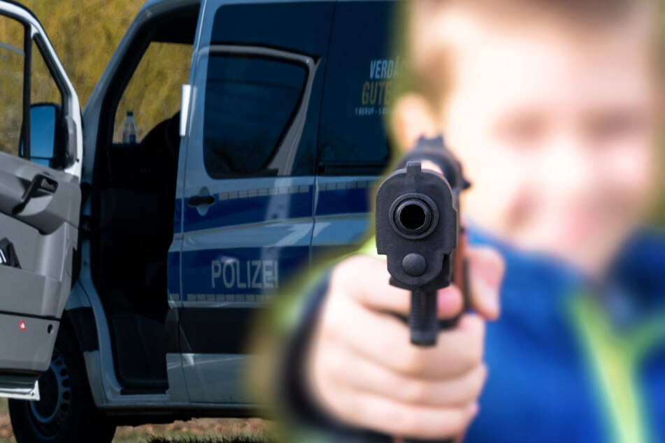 Fußgänger von Teenagern in Pieschen mit Pistole bedroht