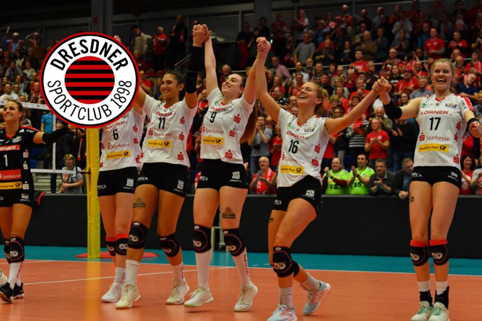Dresdner SC: Supercup in Dresden findet vor Fans statt