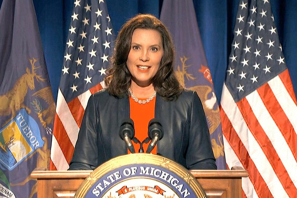 Gretchen Whitmer (49), demokratische Gouverneurin von Michigan.