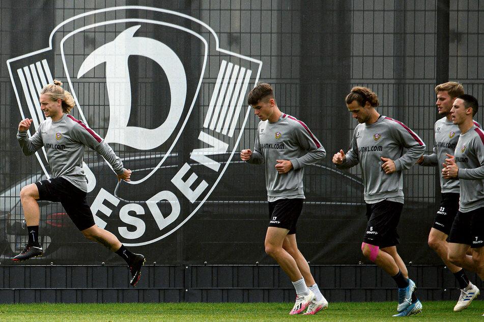 Große Sprünge will Marvin Stefaniak (l.) mit Dynamo machen. Nach drei Jahren ist er zurück in Dresden - vorerst bis Juni 2021.