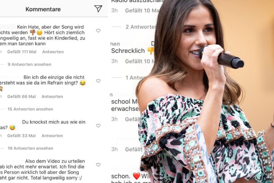 """Autsch! Sarah Lombardi kassiert heftige Fan-Kritik für ihren neuen Song """"Zoom"""""""