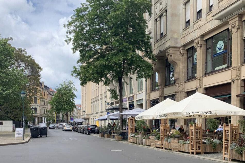 In der Gottschedstraße wurde bereits 2020 von der Regelung Gebrauch gemacht.