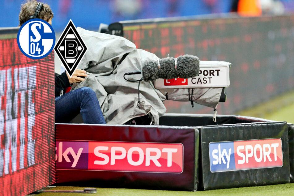Werbe-Einblendung bei Schalke gegen Gladbach mitten im Spiel: Sky erklärt sich nach Twitter-Gewitter!