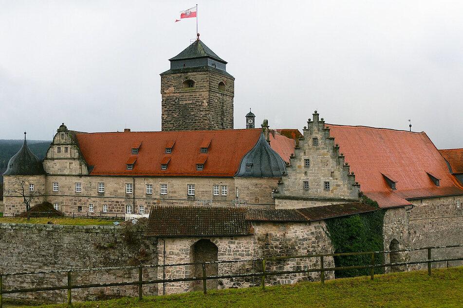 Die Festung Rosenberg im oberfränkischen Kronach.