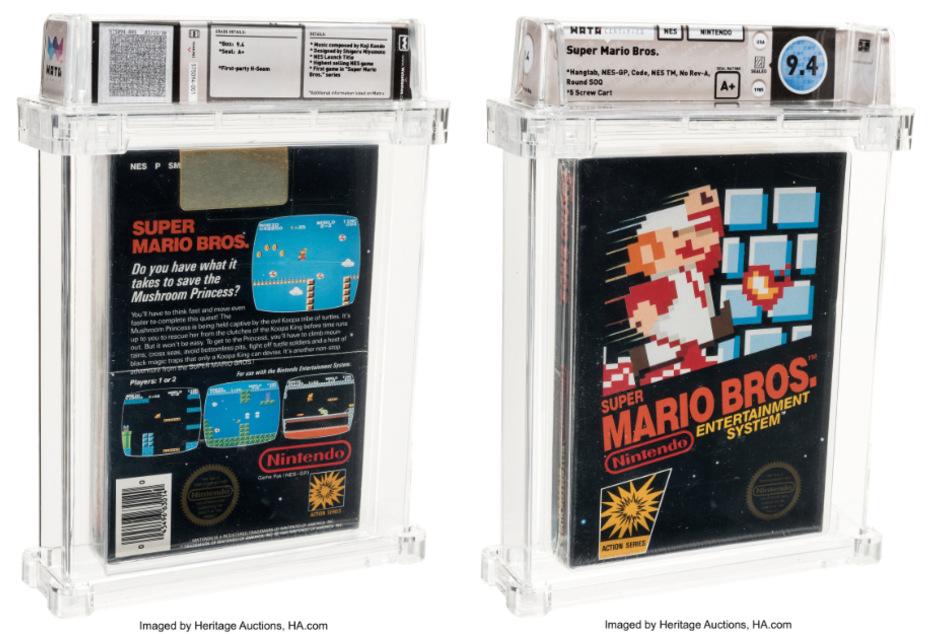 """""""Super Mario Bros.""""-Videospiel für Rekordsumme versteigert"""