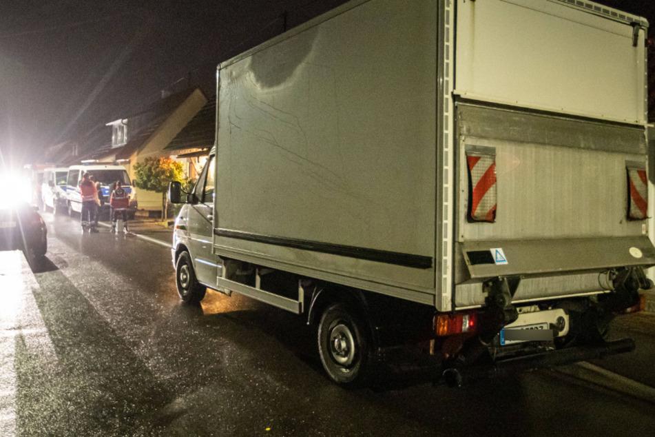 Mit diesem Lastwagen wurden wohl Waffen abtransportiert.