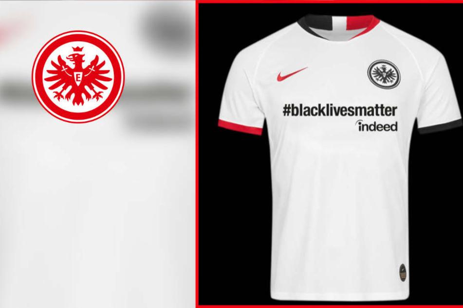 Zeichen gegen Rassismus: Eintracht im DFB-Halbfinale mit #Blacklivesmatter auf der Brust