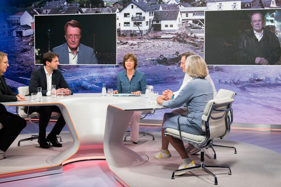 Auch die letzte Sendung vor ihrer Sommerpause brachte Maybrit Illner (56) Spitzen-Quoten.