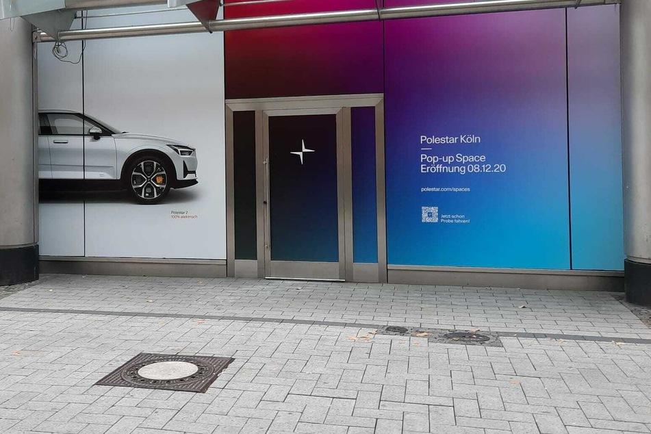 """Der Polestar-""""Pop-up-Space"""" in der Kölner Neumarktgalerie soll am 8. Dezember 2020 eröffnen."""