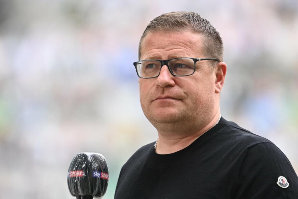 Mönchengladbachs Sportdirektor Max Eberl bei einem Interview.