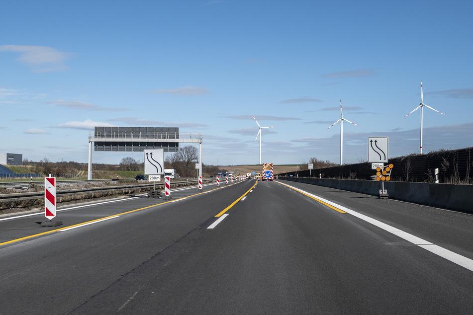 In Westsachsen, an der Landesgrenze zu Thüringen, wird die A4 auf einem rund drei Kilometer langen Abschnitt erneuert.