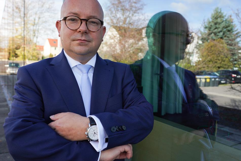 Der sächsische FDP-Landeschef Frank Müller-Rosentritt sieht die Corona-Regelungen kritisch.