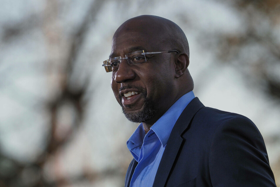 Raphael Warnock makes history as the first Black Senator to represent a southern US state.