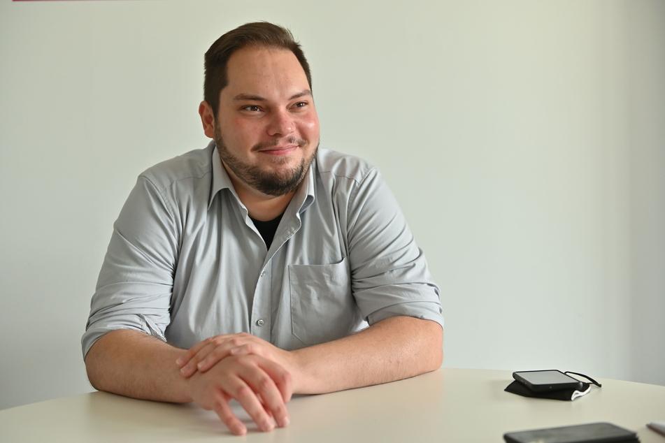 Seit 2014 mischt Toni Rotter (33, Grüne) in der Kommunalpolitik mit. Nun übernimmt er zusammen mit Stadträtin Manuela Tschök-Engelhardt (53) die Fraktionsspitze.