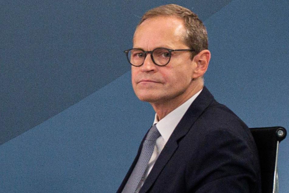 Berlins Regierender Bürgermeister Michael Müller (55, SPD).