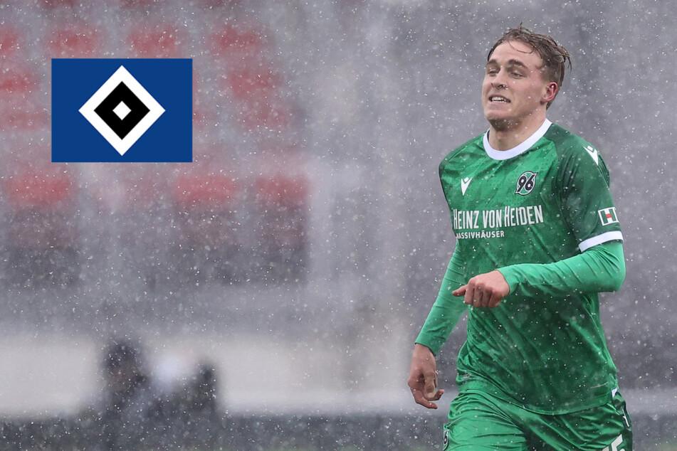 Ist der HSV an 96-Verteidiger Timo Hübers dran? Die Konkurrenz wäre groß!