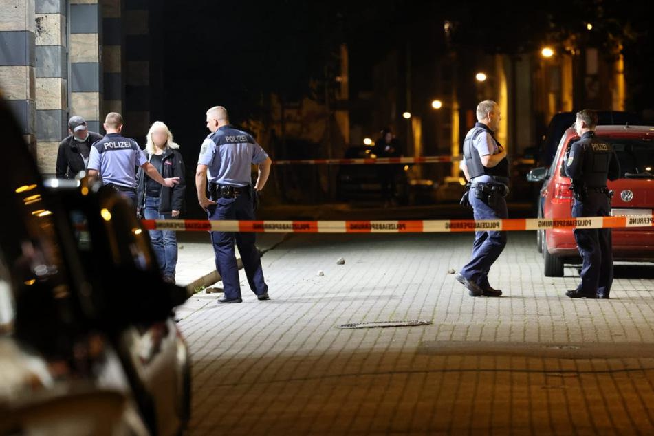 Der Polizeiposten in Leipzig-Connewitz wurde am Montagabend nicht zum ersten Mal angegriffen.