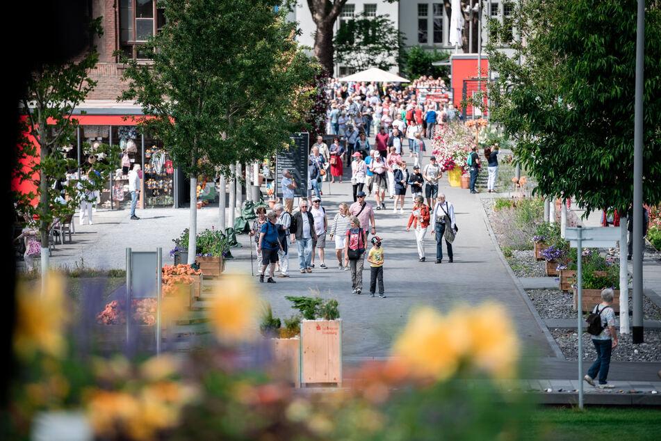 """""""Erfolg trotz Corona"""": Landesgartenschau freut sich über 400.000. Besucherin"""