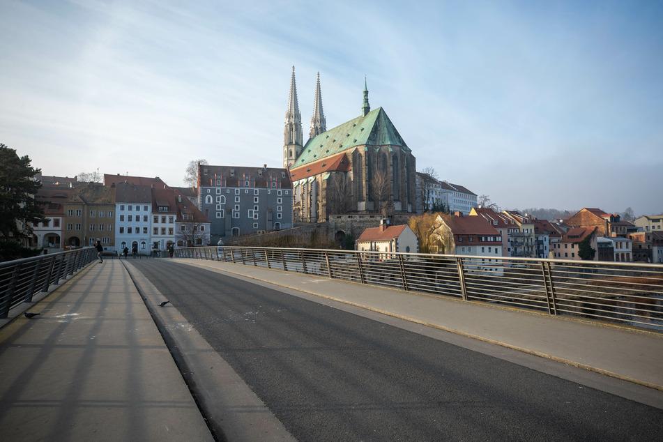 Blick auf die Altstadt von Görlitz. Der Landkreis ist vom Coronavirus schwer getroffen.