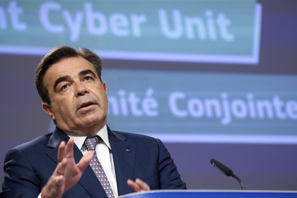 Margaritis Schinas (58) ist der Vizepräsident der Europäischen Kommission.