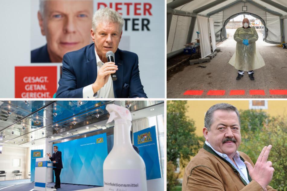 """Das war 2020 in Bayern: """"Rosenheim Cop"""" stirbt, erste Corona-Infektion und Lockdown"""