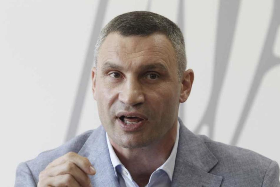 Vitali Klitschko (50) ist Bürgermeister von Leipzigs Partnerstadt Kiev. Zum 9. Oktober wird er in der Messestadt eine Rede halten.