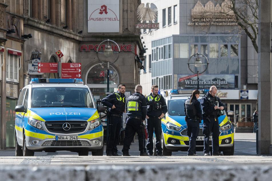 Die Polizei musste in Dortmund eine Party auflösen. (Symbolbild)