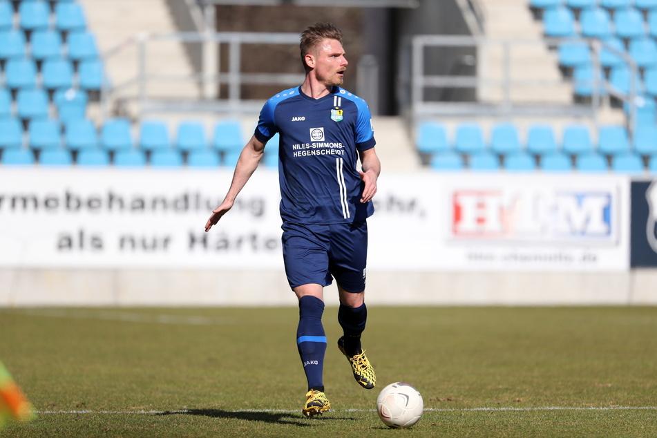 Robert Zickert (31) ackert noch in der Reha, wird dem CFC im Sachsenpokal fehlen.
