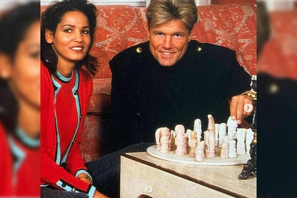 Nadja Abd el Farrag (56) und Dieter Bohlen (67) haben zu gemeinsamen Zeiten gerne Schach gespielt.