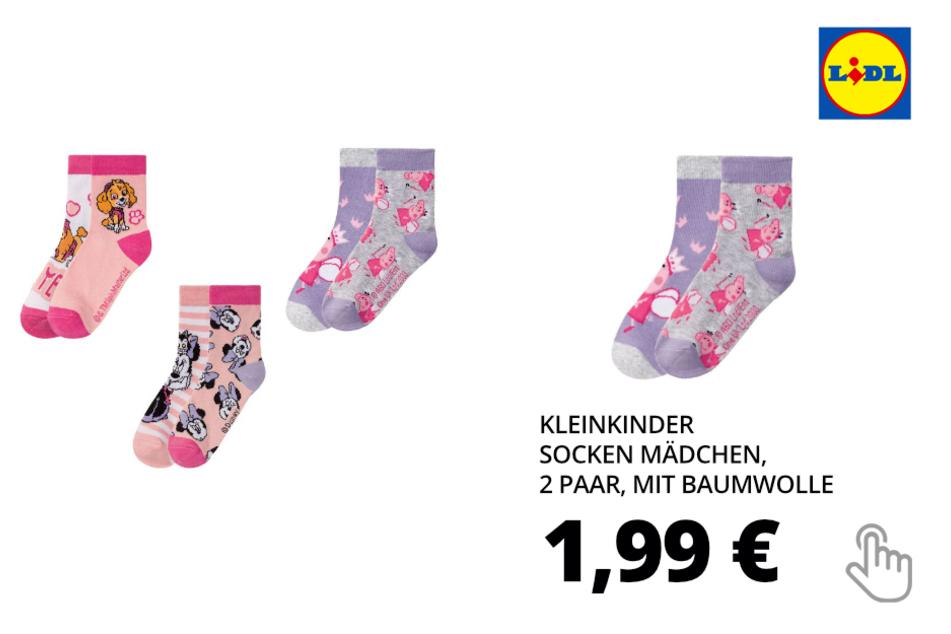 Kleinkinder Socken Mädchen