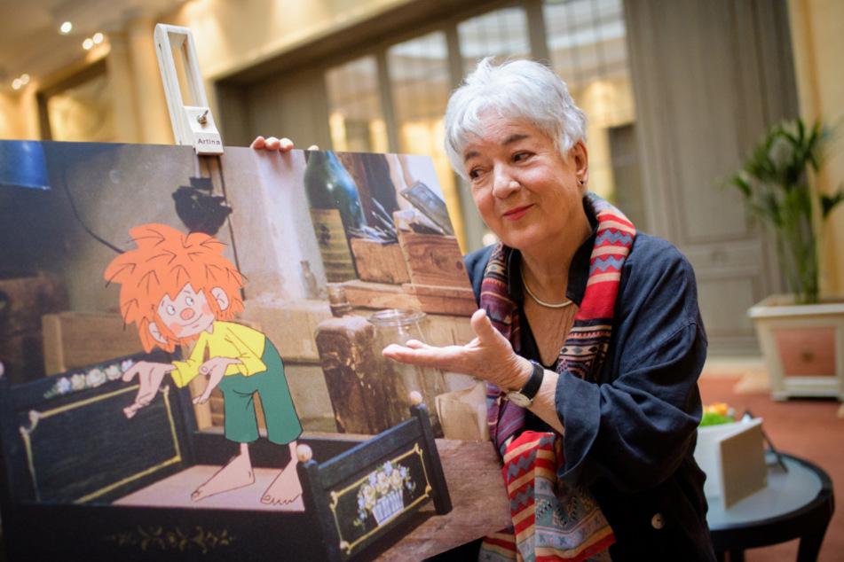 Barbara von Johnson, Illustratorin und Gestalterin des visuellen Erscheinungsbildes der Figur Pumuckl.