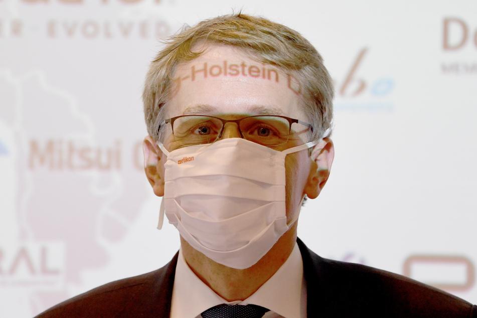 Ministerpräsident Daniel Günther (CDU) sieht keine erhöhte Gefahr für Schleswig-Holstein.
