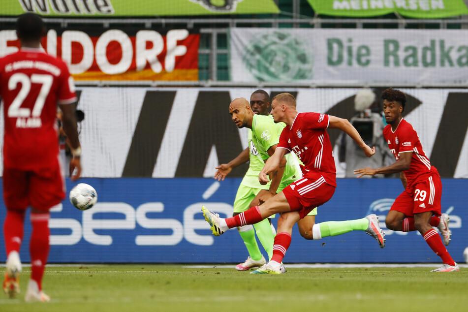Mickaël Cuisance erhöhte für den FC Bayern München.
