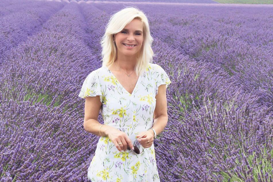 Inmitten der blühenden Lavendelfelder von Valensole ging für Uta Bresan (56) ein lang gehegter Traum in Erfüllung.