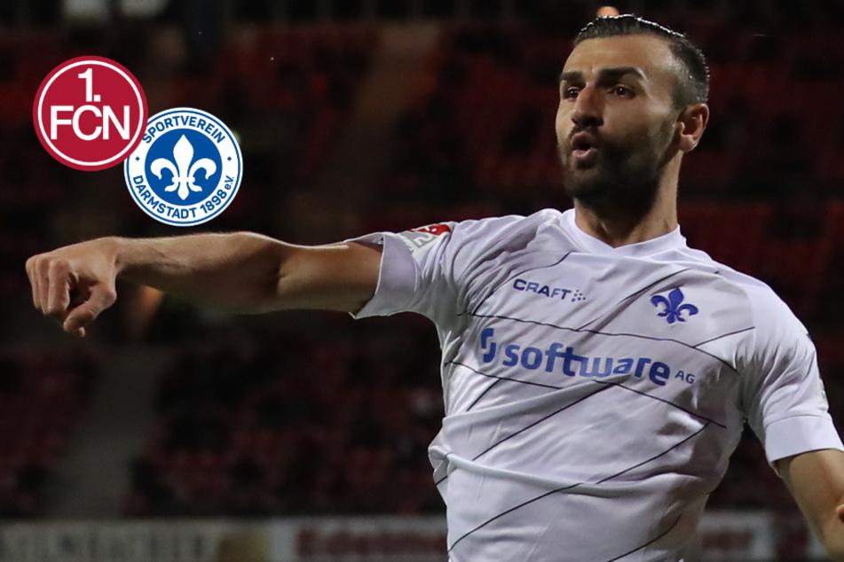 Fünf-Tore-Spektakel! Darmstadt 98 siegt beim 1. FC Nürnberg in wildem Spiel