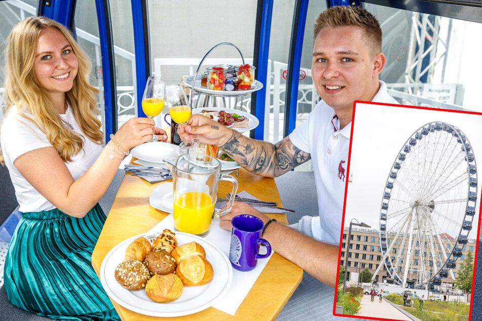 Luxus-Frühstück im Riesenrad: Wird Zeit, dass sich was dreht!