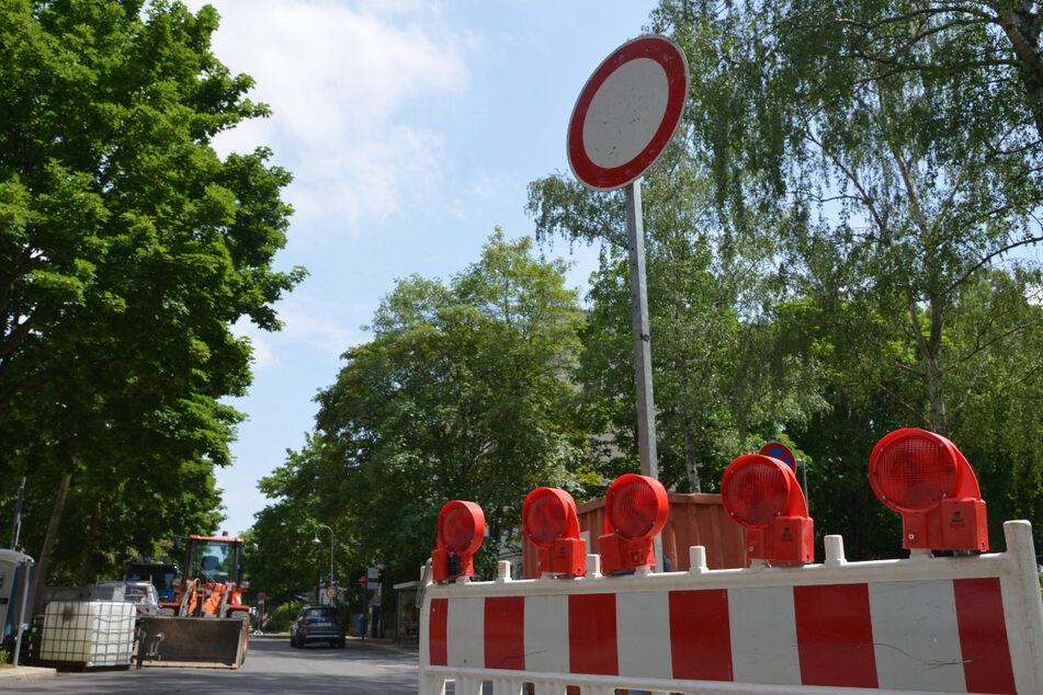 Baustellen Chemnitz: Noch eine Vollsperrung auf dem Kaßberg: Ulmenstraße monatelang dicht