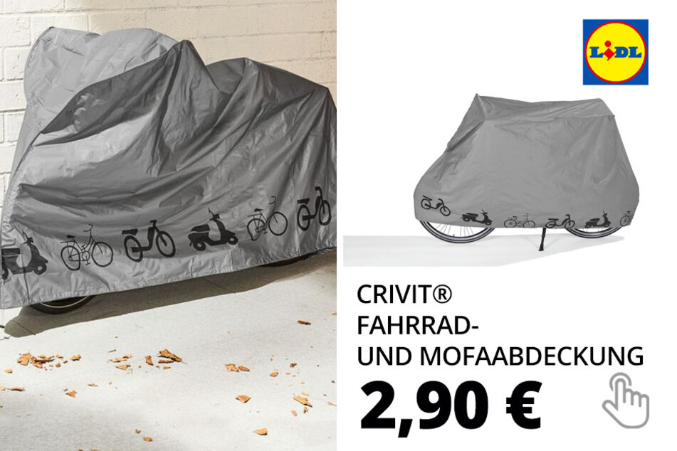 CRIVIT® Fahrrad- und Mofaabdeckung