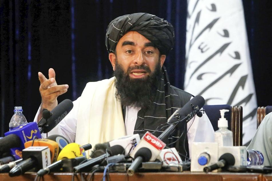 Taliban-Sprecher Sabiullah Mudschahid spricht von dem Willen zu starken und offiziellen diplomatischen Beziehungen zu Deutschland.