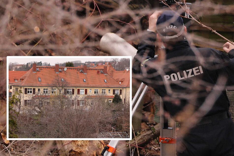 Dresden: Babyknochen-Fund in Dresden: Polizei erneut vor Ort
