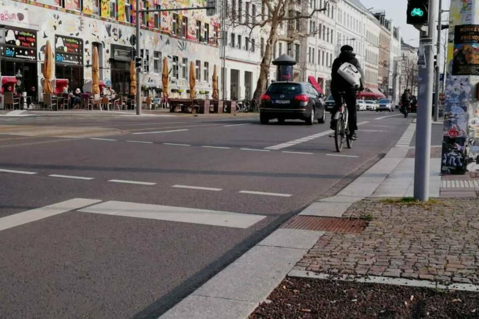 """Leipzig: 2,1 Millionen Radfahrer im Jahr auf der """"Karli"""" unterwegs"""