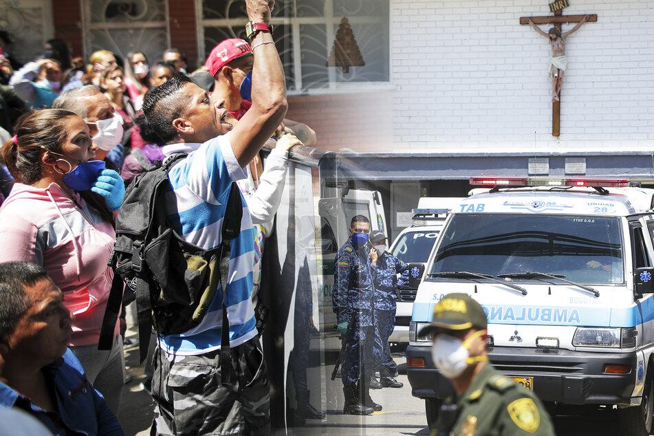 Mindestens 23 Tote und 80 Verletzte bei Gefängnis-Aufstand wegen Coronavirus