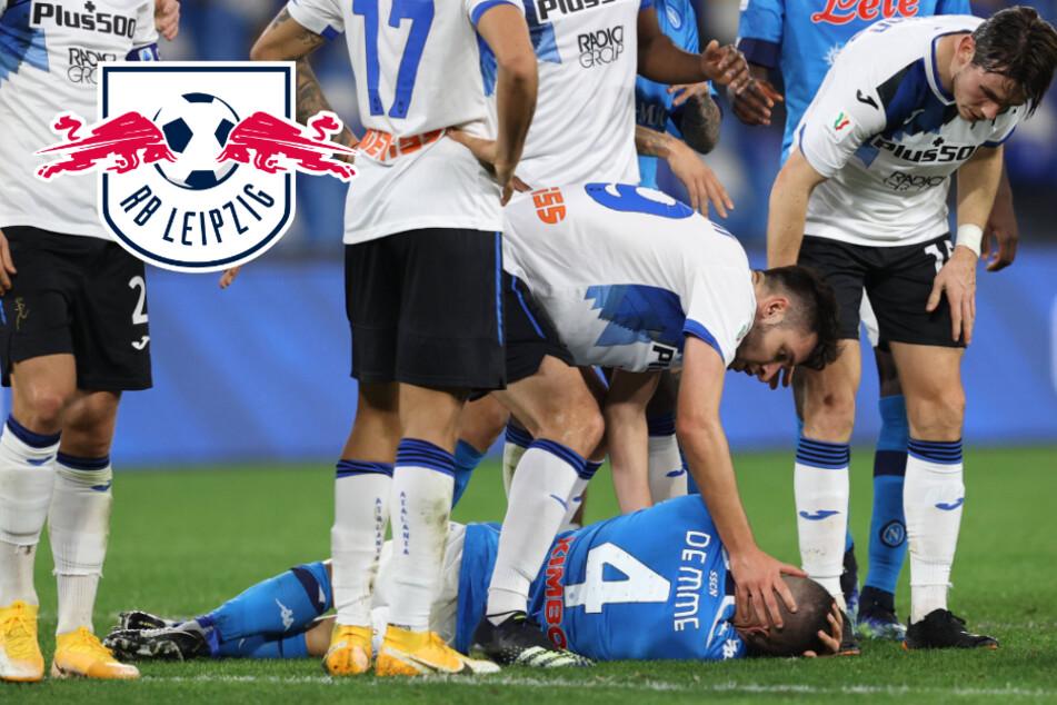 Schock im Pokal: Ex-RB-Leipzig-Star Demme bricht auf dem Platz zusammen