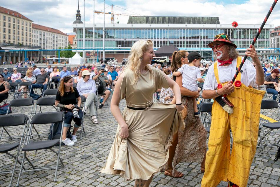 """Dresden: Dresden macht aus Neustart eine Riesen-Sause: Eine Million Euro für """"Kultursommer 21"""""""