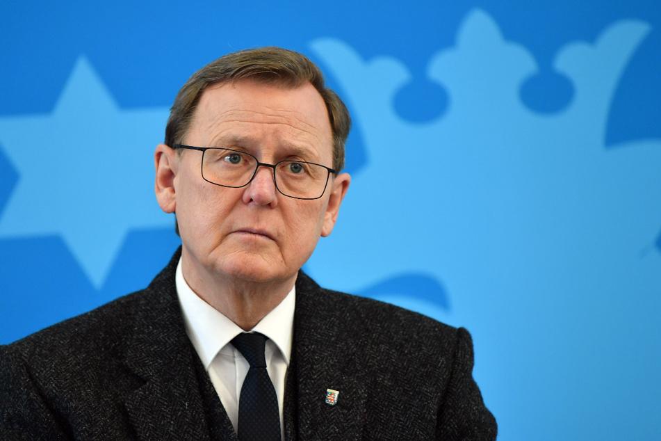 Die Worte von Angela Merkel haben Thüringens Ministerpräsidenten Bodo Ramelow nicht gefallen.