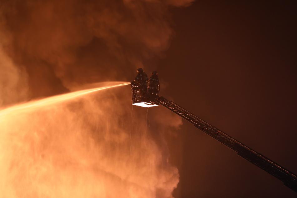 Die Flammen richteten einen Schaden von rund einer Million Euro an.