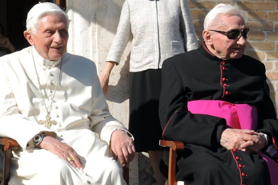 Georg Ratzinger ist tot: Papst-Bruder stirbt mit 96 Jahren