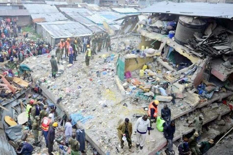 10 Tote bei Wohnhaus-Einsturz, darunter auch Kinder